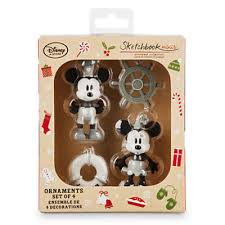 new sketchbook minis ornament sets at the disney store