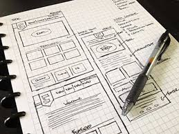 65 examples of website sketches for inspiration pixelbell