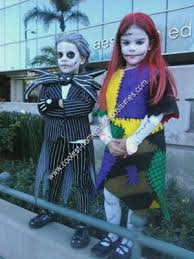 Jack Jack Halloween Costume Coolest Homemade Jack Skellington Sally Halloween Couple