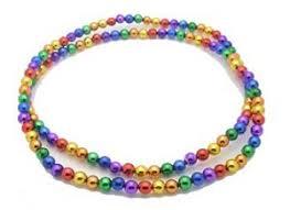 mardi gras beeds rainbow mardi gras necklace rainbowdepot rainbow depot