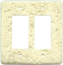 rocker light switch cover stone light switch covers natural stone switch plates mocha 2 double