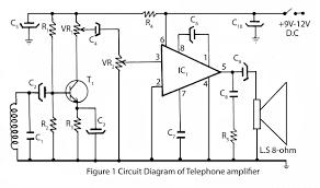 Simple Circuit Diagrams Beginners Telephone Amplifier Circuit Diagram Electronic Circuits