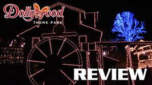 smoky mountain christmas review dollywood 2016 youtube