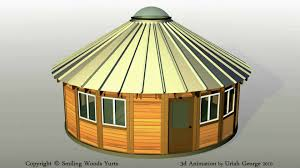 Yurt House by Smiling Woods Yurts Assembly Video Demonstration Youtube