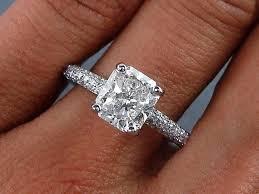 diamond rings square images Square cut diamond rings square cut engagement rings pinterest jpg