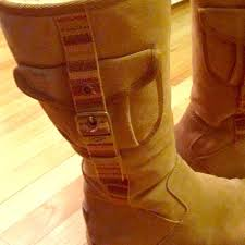 ugg s zip boots 65 ugg boots side zip camel uggs with pocket 100 authentic