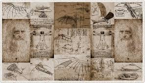 leonardo da vinci invention sketches photography poster photograph