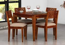 4 seater dining table with bench 4 seater dining table buy 4 seater dining table set online best