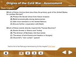 Significance Of Iron Curtain Speech America Pathways To The Present Chapter 19 The Cold War 1945