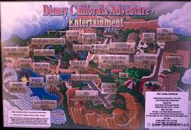 map of california adventure disney california adventure press preview part 1 5 10 12 salute