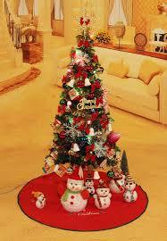 2017 christmas tree ordinary 90cm pvc colourful xmas tree products