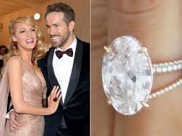 Blake Lively Wedding Ring by Celebrity Engagement Ring Inspiration Parnelle Diamonds