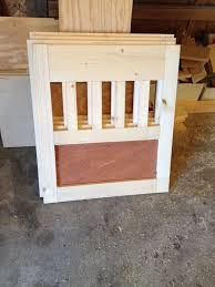 Wooden Crate Nightstand Going To The Dogs Diy Dog Crate Nightstands Hometalk