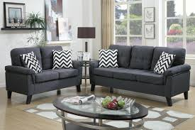 Montebello Collection Furniture Grey Fabric Sofa And Loveseat Set Steal A Sofa Furniture Outlet