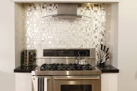 Mirrored Backsplash In Kitchen Accessories Magnificent Small Kitchen Decoration Using Glass