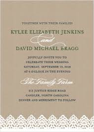 wedding invitations rustic rustic wedding invitations match your color style free