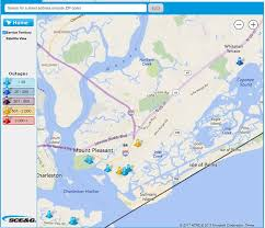 Power Outage Map Florida by You Can View The Sce U0026g Power Outage Map Mount Pleasant Police