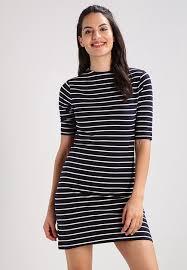 2017 cheap jersey dress navy blue womens clothing online