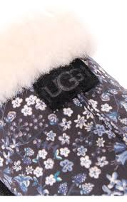 ugg womens ugg scuffette in limited edition liberty print black