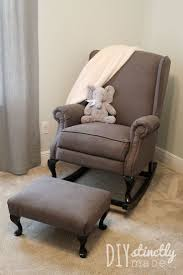 Rocking Chair Ottoman Chairs Fabulous Cheap Rocking Chairs For Nursery With Modern Mid