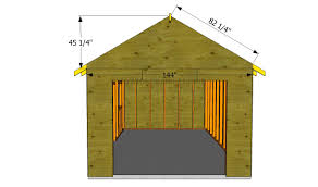 detached garage with apartment how to build a garage roof howtospecialist how to build step