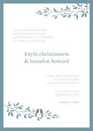 bird wedding invitations printable bird wedding invitation template