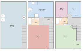 devling place apartments 3 bedroom 2 bath townhouse with basement 1 800 sf