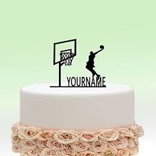 basketball cake toppers basketball cake