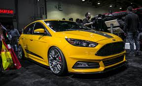 ford focus st aftermarket four tuned focus sts appearing at the 2015 sema car