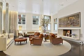 Restoration Hardware Living Rooms Contemporary Living Room With Hardwood Floors In New York Ny