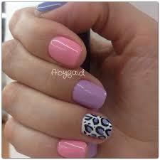 uas de gelish decoradas tonalidades rosas para uñas de gelish venicce me
