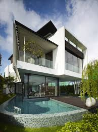 amazing modern house design house with black and white concepts