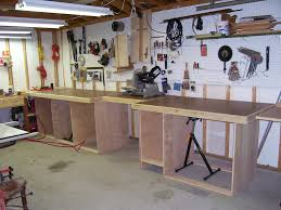 Tool Bench Plans Work Benches A Storage Solution Home Designs Workshop Bench