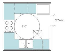 Kitchen Cabinets Clearance by Accessible Living Wheelchair Clearance Kitchen Floor Dimensions