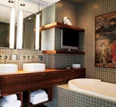 masculine bathroom ideas delightful masculine bathrooms with floor to ceiling tile shower