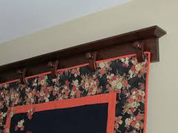richard t hyers woodworking wall mounted quilt hanger