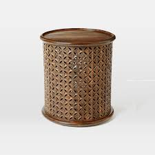 west elm accent table lovable wood accent table carved wood side table west elm interiorvues