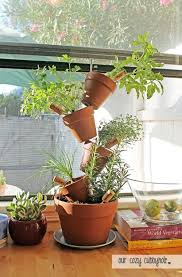 222 best tipsy u0026 stacked pots images on pinterest gardening