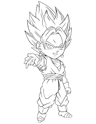 dbz coloring funycoloring