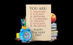 image result for form of teachers day