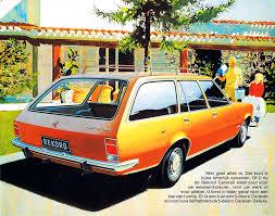opel rekord station wagon 1972 77 opel rekord d brochure