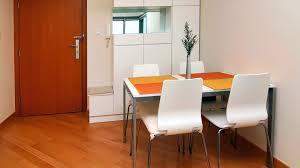 apartment dining room ideas grey l shaped fabric sofa black