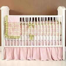 Pink And Green Crib Bedding Pink Green Baby Bedding Pk Pink And Mint Green Crib Bedding Hamze