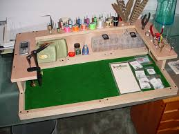 Diy Fly Tying Desk Build Your Own Fly Tying Bench Fly Tying Stations Pinterest