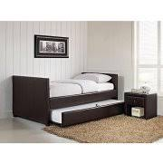 Bookcase Daybed With Drawers And Trundle Day Bed With Storage