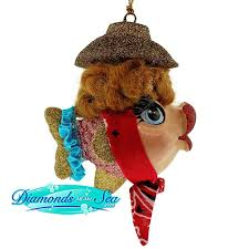 33 best ornaments images on fish ornaments