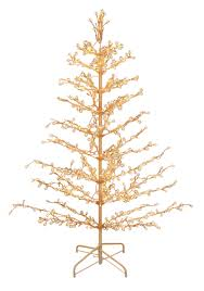 stick christmas tree with lights 6 pre lit metal stick tree
