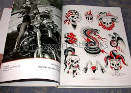 tattooflashbooks com fred pinckard itw iron throttle