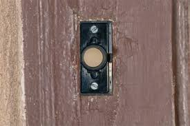 Interior Doorbell Cover Doorbell Button Replacement Doityourself Com