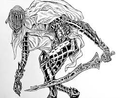 Drawing Games Dancer Of The Boreal Valley Dark Souls 3 By Master Of Games On